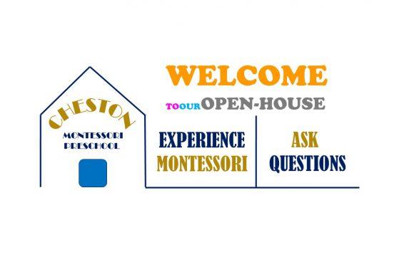 Cheston Montessori Preschool Open-House on 13th Oct 2018 (Saturday)